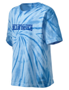Martensdale-Saint Marys School Blue Devils Kid's Tie-Dye T-Shirt