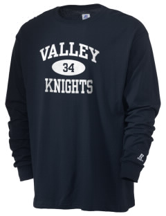 Valley Elementary School Knights  Russell Men's Long Sleeve T-Shirt