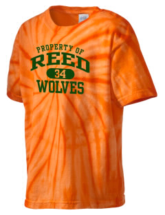 Reed Middle School Wolves Kid's Tie-Dye T-Shirt