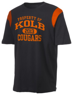 Kolb Middle School Cougars Holloway Men's Rush T-Shirt