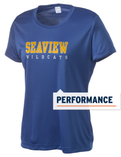 Seaview Elementary School Wildcats Women's Competitor Performance T-Shirt