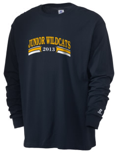 Carrier Mills Elementary School Junior Wildcats  Russell Men's Long Sleeve T-Shirt