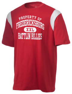 Fredericksburg Middle School Battlin Billies Holloway Men's Rush T-Shirt
