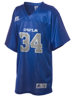 Shettler Elementary School Owls Russell Kid's Replica Football Jersey