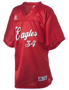 Eagle View Elementary School Eagles Russell Kid's Replica Football Jersey