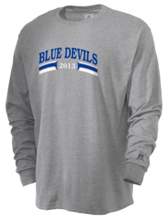 Mortimer Jordan High School Devils  Russell Men's Long Sleeve T-Shirt