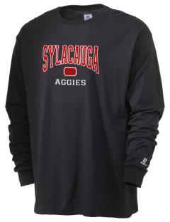 Sylacauga High School Aggies  Russell Men's Long Sleeve T-Shirt