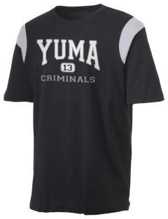 Yuma High School Criminals Holloway Men's Rush T-Shirt