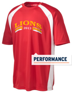 Liberty High School Lions Men's Dry Zone Colorblock T-Shirt