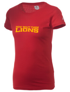 Liberty High School Lions  Russell Women's Campus T-Shirt