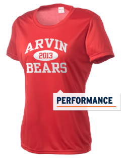 Arvin High School Bears Women's Competitor Performance T-Shirt