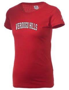 Verdugo Hills High School Dons  Russell Women's Campus T-Shirt