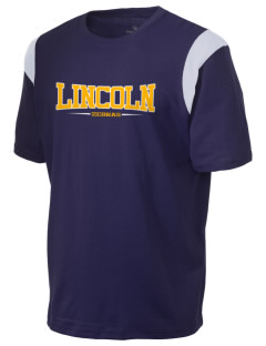 Lincoln High School Zebras Holloway Men's Rush T-Shirt