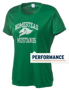 Homestead High School Mustangs Women's Competitor Performance T-Shirt
