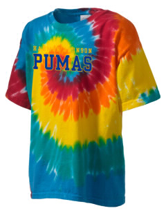 Harmon Johnson Elementary School Pumas Kid's Tie-Dye T-Shirt