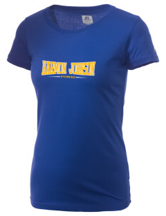 Harmon Johnson Elementary School Pumas  Russell Women's Campus T-Shirt