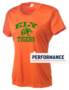 Ely High School Tigers Women's Competitor Performance T-Shirt