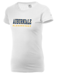 Auburndale High School Bloodhounds  Russell Women's Campus T-Shirt