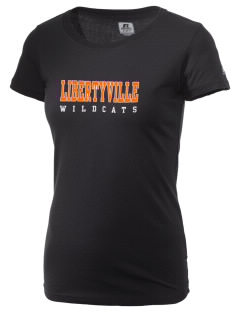 Libertyville High School Wildcats  Russell Women's Campus T-Shirt