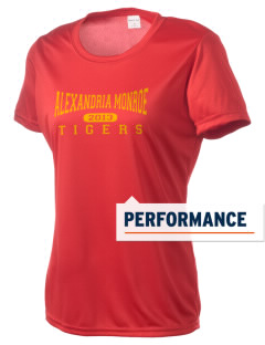 Alexandria Monroe High School Tigers Women's Competitor Performance T-Shirt
