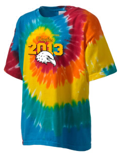 Johnson Central High School Eagles Kid's Tie-Dye T-Shirt
