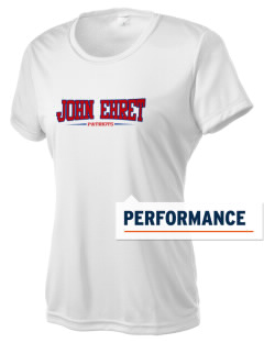 John Ehret High School Patriots Women's Competitor Performance T-Shirt