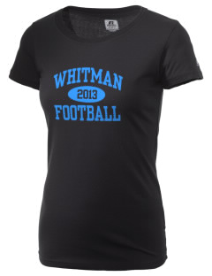 Walt Whitman High School Vikings  Russell Women's Campus T-Shirt