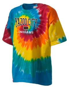 Yazoo City High School Indians Kid's Tie-Dye T-Shirt