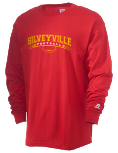 Silveyville Primary School Dragons  Russell Men's Long Sleeve T-Shirt