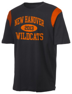New Hanover High School Wildcats Holloway Men's Rush T-Shirt