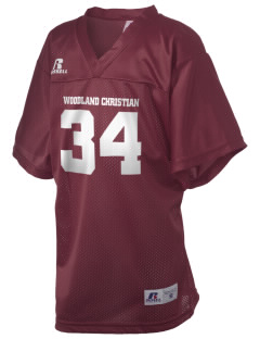 Woodland Christian School Cardinals Russell Kid's Replica Football Jersey
