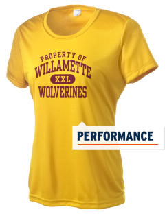 Willamette High School Wolverines Women's Competitor Performance T-Shirt