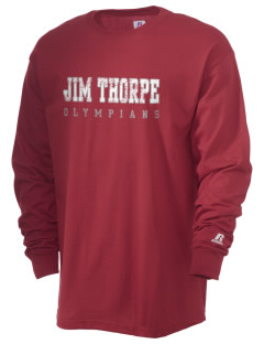 Jim Thorpe High School Olympians  Russell Men's Long Sleeve T-Shirt