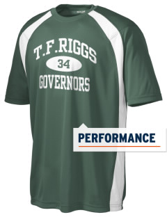 T.F. Riggs High School Governors Men's Dry Zone Colorblock T-Shirt