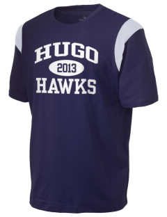 Hugo Elementary School Hawks Holloway Men's Rush T-Shirt