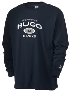 Hugo Elementary School Hawks  Russell Men's Long Sleeve T-Shirt