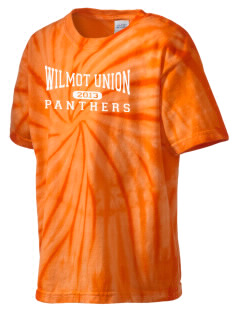 Wilmot Union High School Panthers Kid's Tie-Dye T-Shirt