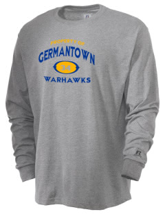 Germantown High School Warhawks  Russell Men's Long Sleeve T-Shirt