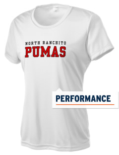 North Ranchito Elementary School Pumas Women's Competitor Performance T-Shirt
