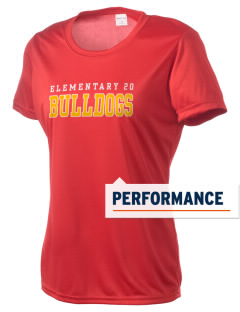 Elementary School 20 Bulldogs Women's Competitor Performance T-Shirt