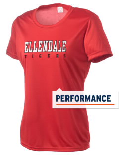 Ellendale Elementary School Tigers Women's Competitor Performance T-Shirt