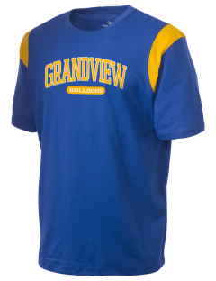 Grandview Elementary School Bulldogs Holloway Men's Rush T-Shirt