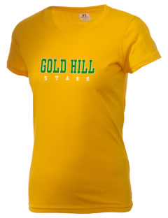 Gold Hill Elementary School Stars  Russell Women's Campus T-Shirt