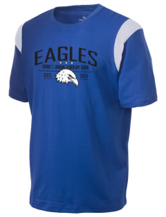 George F Johnson Elementary School Eagles Holloway Men's Rush T-Shirt