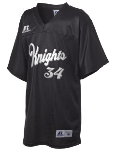 First Coast Christian School Knights Russell Kid's Replica Football Jersey
