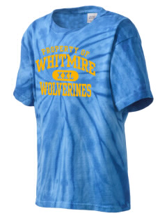 Whitmire High School Wolverines Kid's Tie-Dye T-Shirt