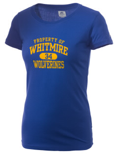 Whitmire High School Wolverines  Russell Women's Campus T-Shirt
