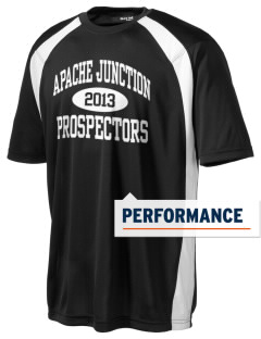 Apache Junction High School Prospectors Men's Dry Zone Colorblock T-Shirt