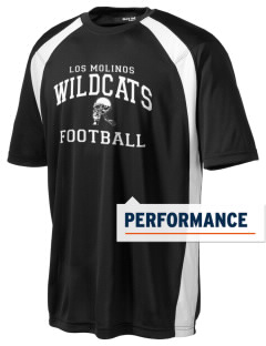 Los Molinos Elementary School Wildcats Men's Dry Zone Colorblock T-Shirt