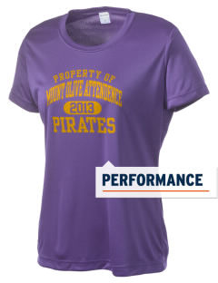Mount Olive Attendence Center Pirates Women's Competitor Performance T-Shirt